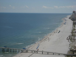 Turquoise Place view of the Gulf of Mexico